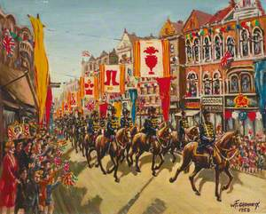 Woolwich Coronation Procession