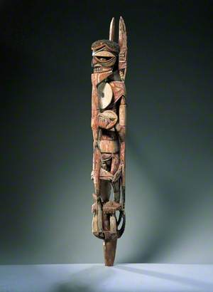 Malagan Funerary Post (Maramarua Type)