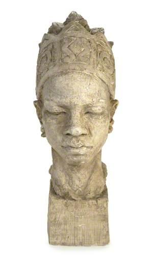 Portrait Bust of an African