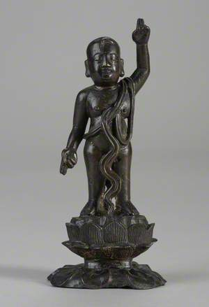 Buddha Shakyamuni as an Infant
