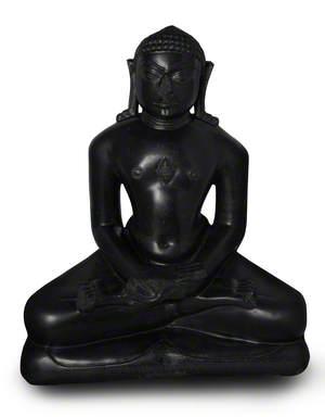 Twenty-Second Jain Tirthankara Neminatha in Lotus Position