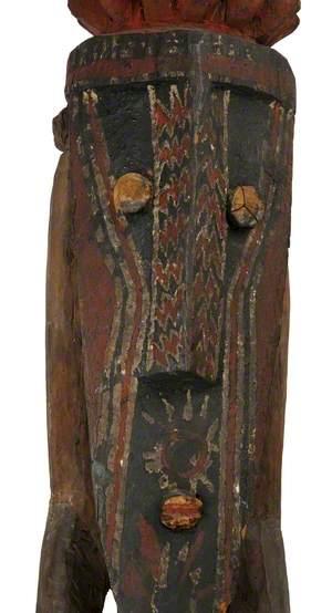 Male Figure with Headdress