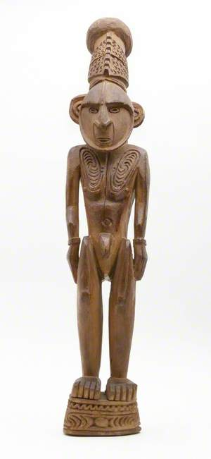 Naked Male Figure