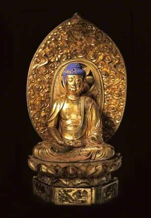 Amida Buddha with Aureole