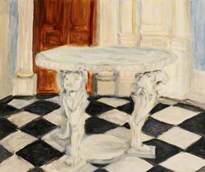 Marble Table at Orleans House, Twickenham