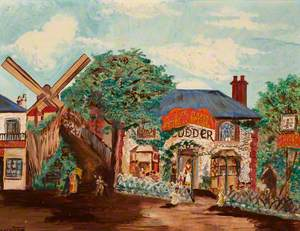 'The Woodman' and Windmill, Sydenham