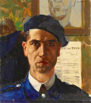 Emilio Tafani, Self Portrait
