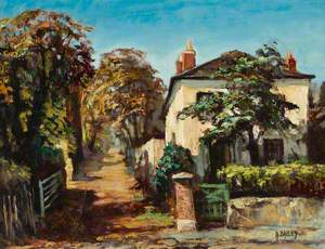 Round Hill, with Round Hill Cottage, Sydenham