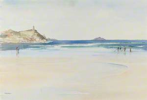 Wet Sands at Polzeath