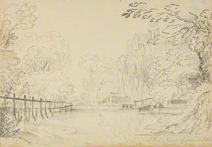 Pond and Trees, Suttons
