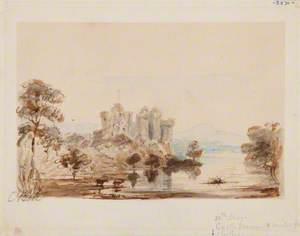 Castle by a Lake (Castle Doune, Stirling)
