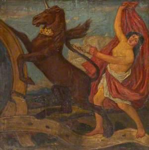 Female with Unicorn*