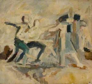 Figure Composition after Goya