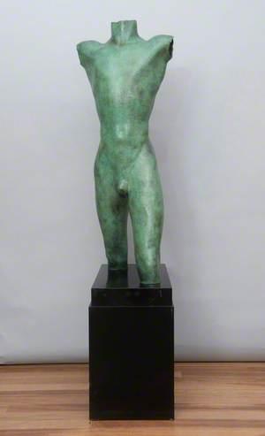 Male Nude (Walking Torso)