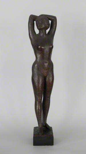Standing Female Nude (Dame Edith Evans, 1888–1976)
