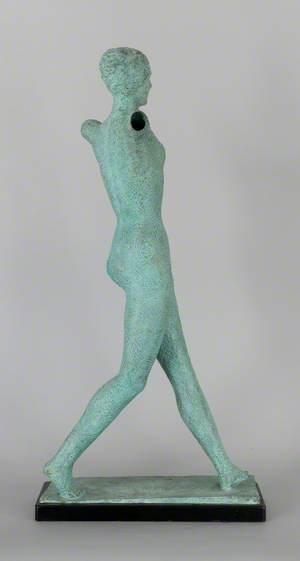 Striding Full-Length Female Nude (Walking Girl)