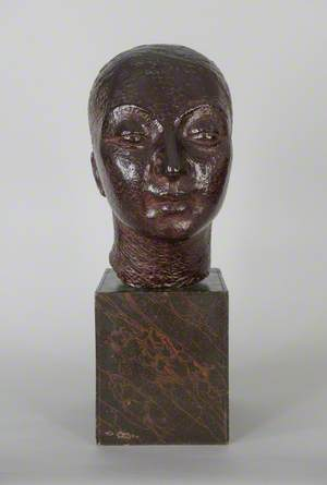 Self Portrait (Purple Head)