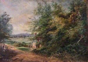 Selsdon Road, under Croham Hurst, Croydon, Surrey