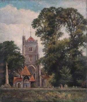 Beddington Church with Lychgate, Croydon, Surrey