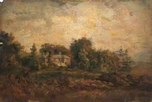 Captain Kemiss's House at the Foot of Croham Hurst, Croydon, Surrey