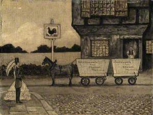 Fanciful Reconstruction of the Grand Surrey Iron Railway, 1801–1839