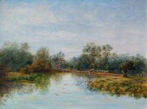 The Duck Pond near Woolhampton, Berkshire