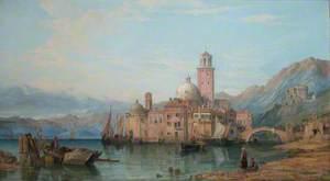 An Italian Lake Scene*