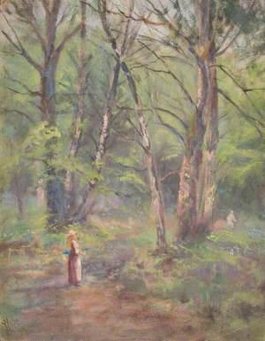 Springtime in Addington Park, Croydon, Surrey