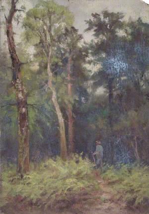 In Addington Park, Croydon, Surrey, June 1897