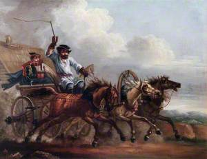 Courier with Three Horses