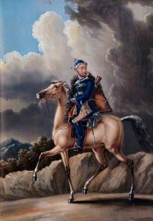 A Circassian Soldier on Horseback