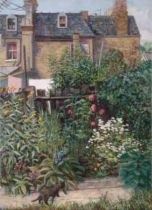 A Back Garden in Islington, London