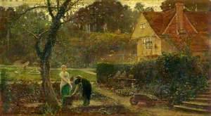 In a Country House Garden