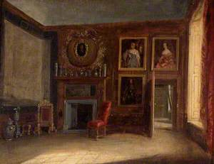 The Queen's Private Bedchamber, Hampton Court Palace