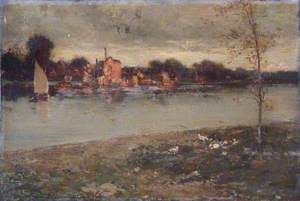 Kingston from the River, Surrey