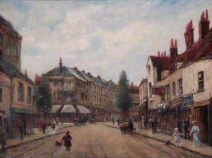 Clarence Street, Eden Street and London Road, Kingston, Surrey