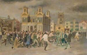 Football Carnival, Market Place, Kingston, Surrey