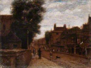 View of Clarence Street, Kingston, Surrey