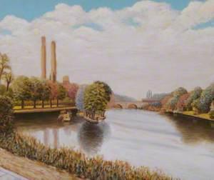 The Thames at Kingston, Surrey