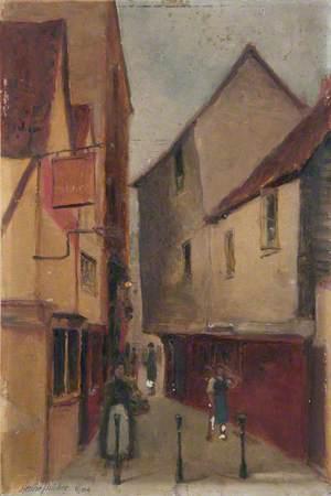 'Old Harrow' Pub and Passage, Market Place, Kingston, Surrey
