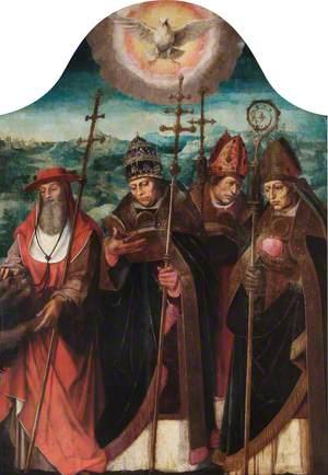 Four Latin Fathers