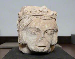 Corbel Head of a King (?)*