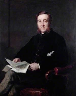 George Webb Sandford (1813–1892), President of the Pharmaceutical Society (1863–1868)