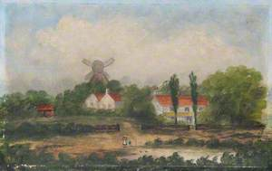Landscape with a Windmill*