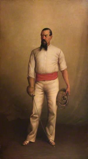 Captain Sir Richard Francis Burton (1821–1890), KCMG, FRGS, Maître d'Armes, France