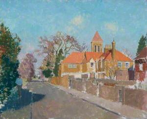 A Richmond Street Scene, Surrey