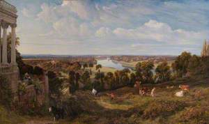 View from Richmond Hill, Surrey