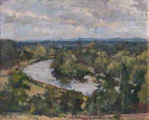 View of the Thames from Richmond Terrace