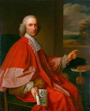 Dr Humphrey Sibthorp (1713–1797), Professor of Botany at Oxford