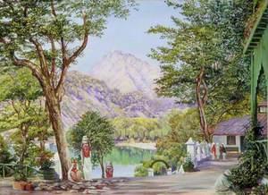 Gardening at Nainee Tal, India
